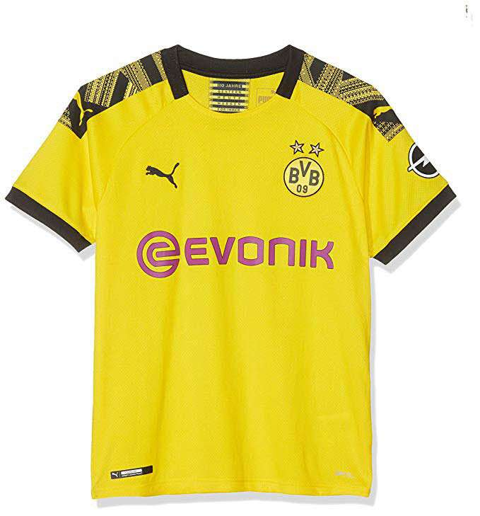 PUMA Damen BVB WMS Home Shirt Replica Evonik with Opel Logo